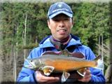 村田基と釣れない君_釣れない君の管釣り大会