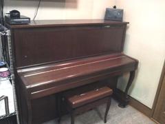 ピアノを配置